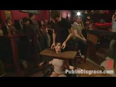 Public BDSM Orgy in a Bar<br>