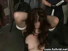 Tied Up At Gangbang<br>
