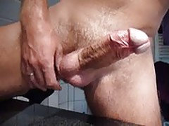 Big cock is cumming.mov