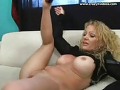 Curly blonde bj fuck