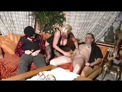 German Mature in Casting With