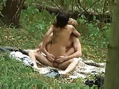 Hidden sex outdoor amateur