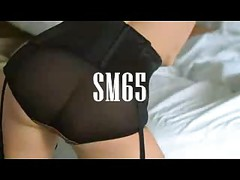 Blonde In Stockings Rides Hard SM65