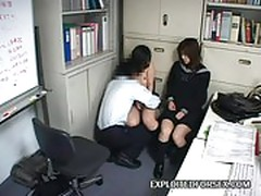 Two schoolgirls blackmailed