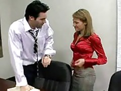Office slut lydia lee fucks