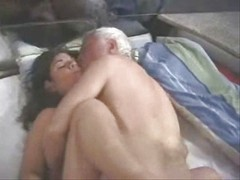 Old Man And Young Woman 1