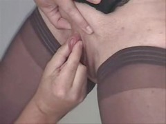 Rubbing big clit of my mature wife Amateur World Wide Wives