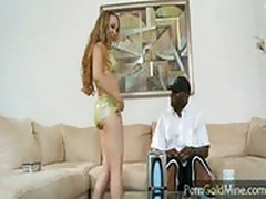 Jamie Elle fucks a huge black dick
