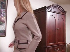 Secretary Seduces Boss for a Raise