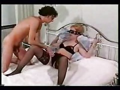 Tied up girl fucked while