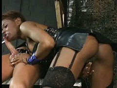 Coco Brown German Black Pornstar, amazing deepthroat