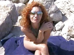 Hot redhead MILF banged on