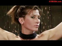 Brunette Girl Tied Up Whipped