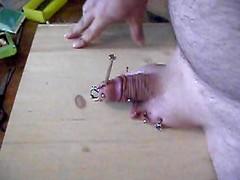 me nailing balls pain