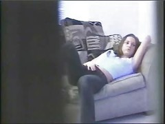 Spying my sister 2. Hidden cam