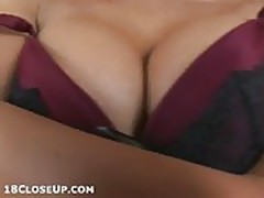 Cindy TeasinglyPlays with her Underwear