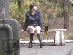 upskirt bench nudist -4