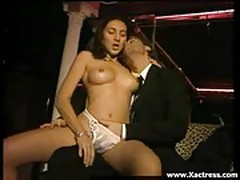 French hottie Penelope strips