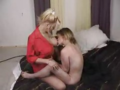 Lesbian Couple Making Love<br>